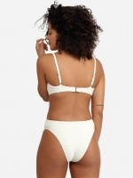 Free Society - Scrunch Cut Out Swimsuit in Ivory 3 Thumb