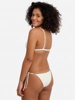 Free Society - Scrunch Triangle Bikini in Ivory 3 Thumb