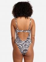 Free Society - Zebra Underwire Swimsuit 4 Thumb