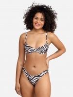 Free Society - Zebra Underwire Bikini 1 Thumb