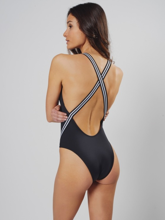 Free Society - Cross Tape Swimsuit 2