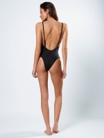 Free Society - Racer Bandeau Swimsuit 2 Thumb