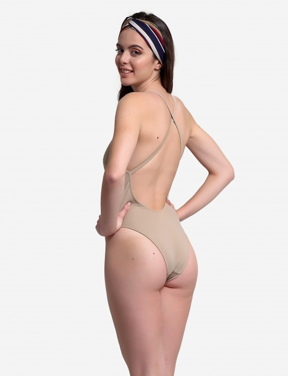 Free Society - High Leg Swimsuit 3