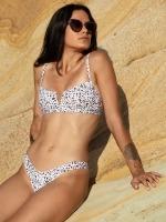 Free Society - White Leopard V Wire Bikini 2 Thumb