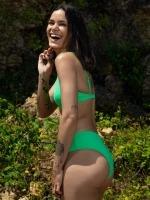 Free Society - Zig Zag Bralette Bikini 3 Thumb