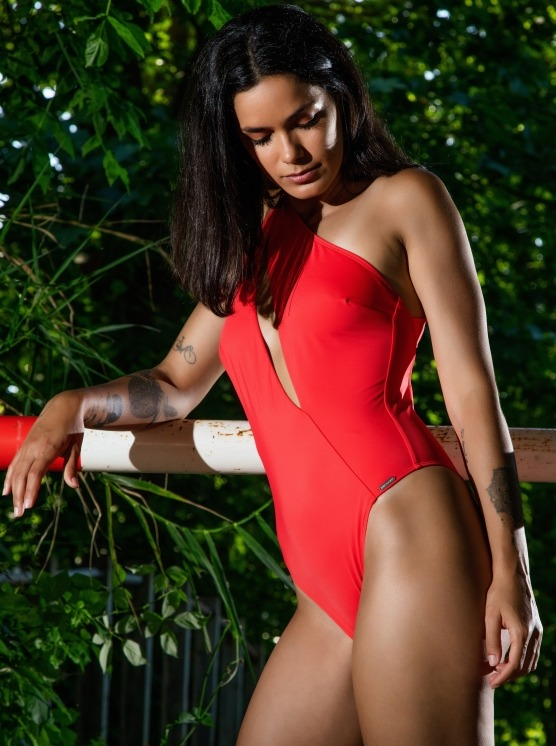 Free Society - One Shoulder Swimsuit 4