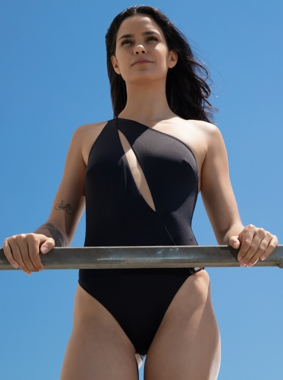 Free Society - One Shoulder Swimsuit 3