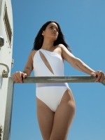Free Society - One Shoulder Swimsuit 2 Thumb