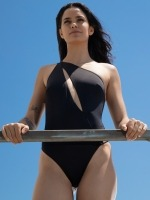 Free Society - One Shoulder Swimsuit 3 Thumb